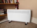 Ambient Air Convector / Panel Heater - Electric 2kw - Floor standing with castors